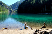 Lindeman Lake in the morning