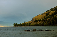 Lake Okanagan After Thunderstorm