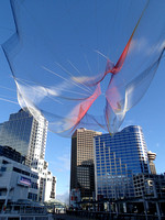 745-foot aerial sculpture was installed for TED Conference Vancouver