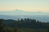 Loking South-East: Fraser River & Mount Baker