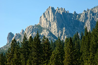 Castle Crags from Overlook